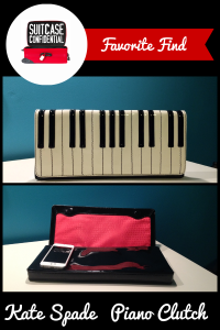 Suitcase Confidential Favorite Find: Kate Spade Piano Clutch