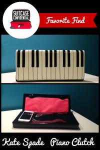 Suitcase Confidential Favorite Find: Kate Spade Piano Clutch