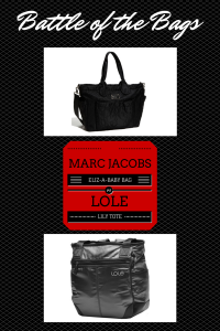 Suitcase Confidential Battle of the Bags: Marc Jacobs Eliz-A-Baby vs. Lole Lily Tote