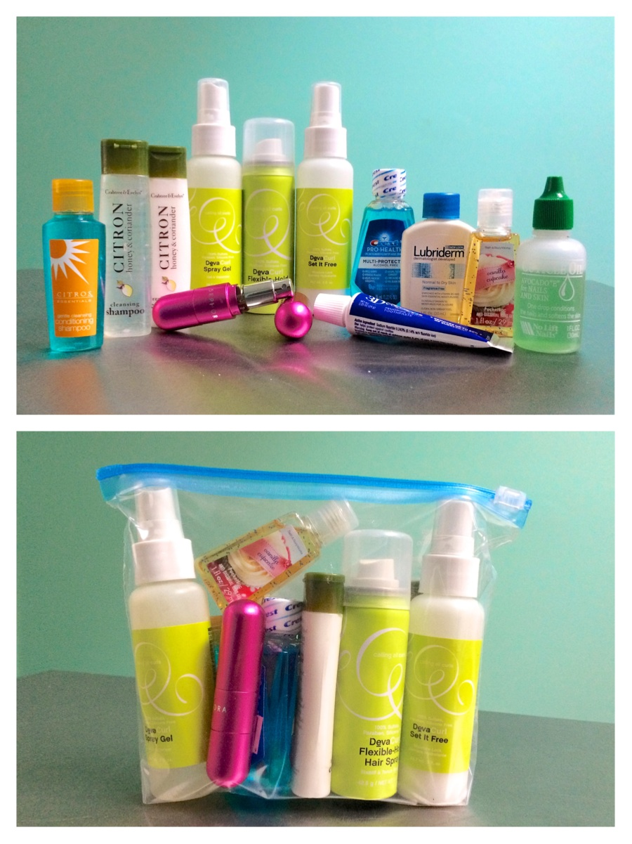 Travel Liquid Bag Size