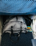 The Sherpani Sojourn fits nicely under the seat on an airplane!