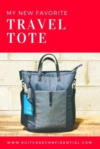 Travel Tote - Suitcase Confidential