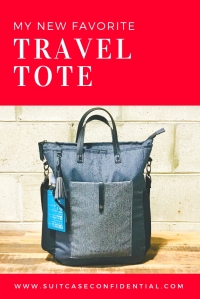 Travel Tote - Suitcase Confidential